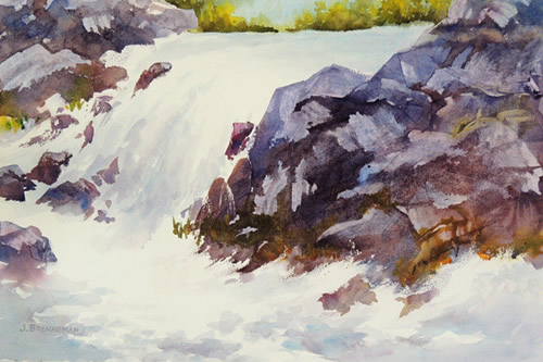 "Award of Merit - ""Spring Runoff"" - Jeanne Brenneman"