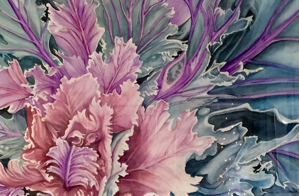 """Honorable Mention -""""Ornamental Explosion"""" by Louise Braddock"""