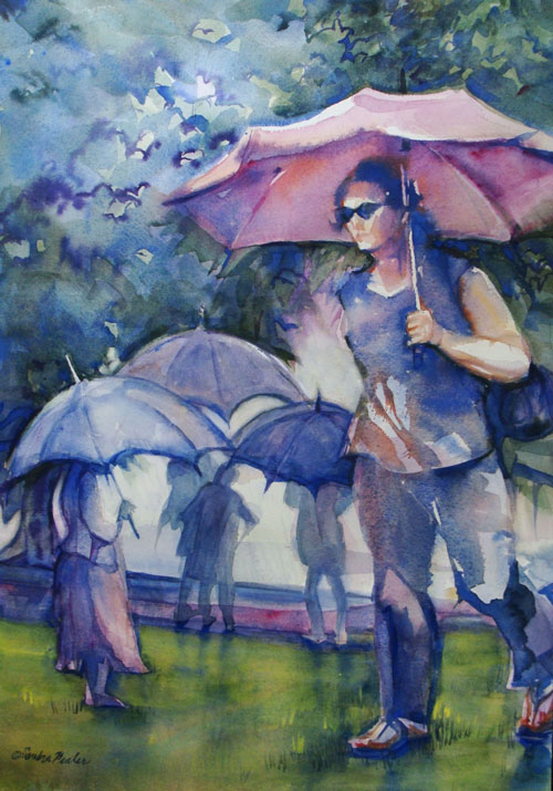 Best of Show by Sandra Pealer - Rainwalk