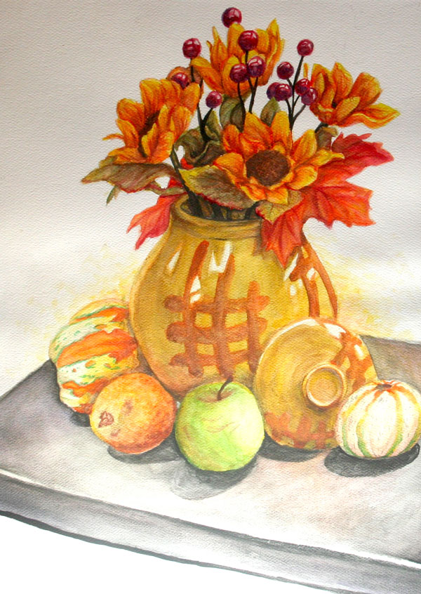 Autumn Vase by Jamie Daugherty