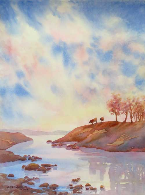 Jeanne Brenneman - Air and Water watercolor