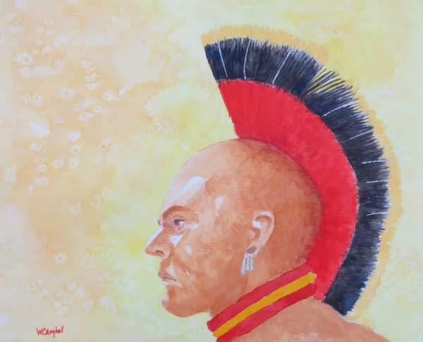 William Campbell - Native Son watercolor