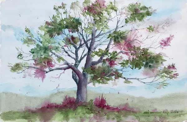 Judy Reed - Good Memories watercolor