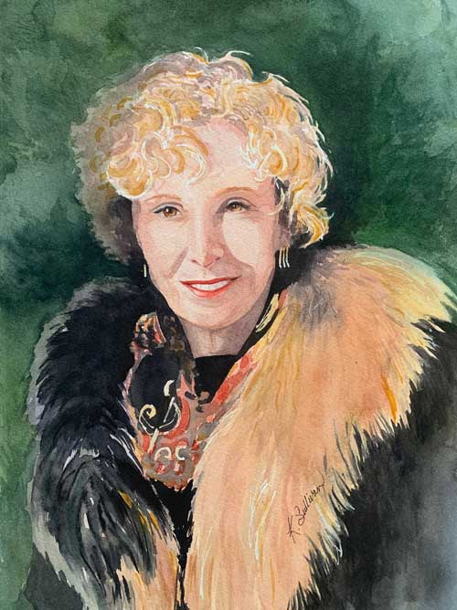 Kay Sullivan - Sunlight in Her Eyes watercolor